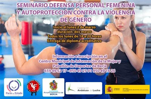 Ayuntamiento de Berja organiza un seminario de defensa personal para mujeres