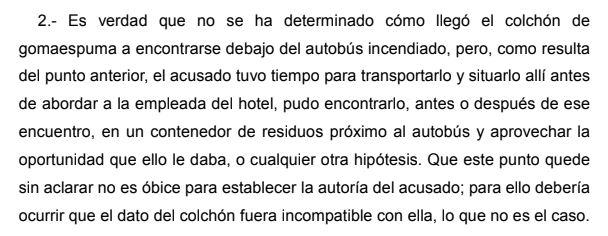 TSJA rebaja a nueve años y medio la condena a quien quemó un bus de La Vuelta