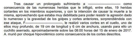 Prisión permanente revisable para el asesino y agresor sexual de una chica en Almería