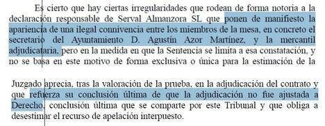 El TSJA confirma que en el Ayuntamiento de Serón se amañó una adjudicación