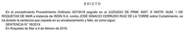 """Condenado """"en rebeldía"""" el líder municipal de Vox en Roquetas"""