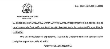 El Ayuntamiento de Dalías es condenado a readmitir a dos empleados
