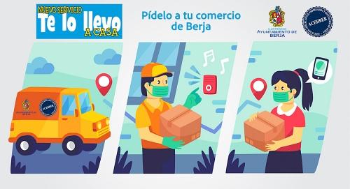 El Ayuntamiento de Berja y Acehber la venta on line local