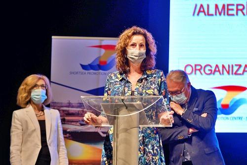 Vázquez destaca la importancia del transporte marítimo de corta distancia