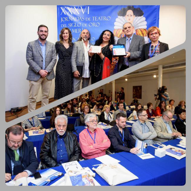 Las Jornadas de Teatro del Siglo de Oro homenajean al investigador César Oliva y la compañía Morboria