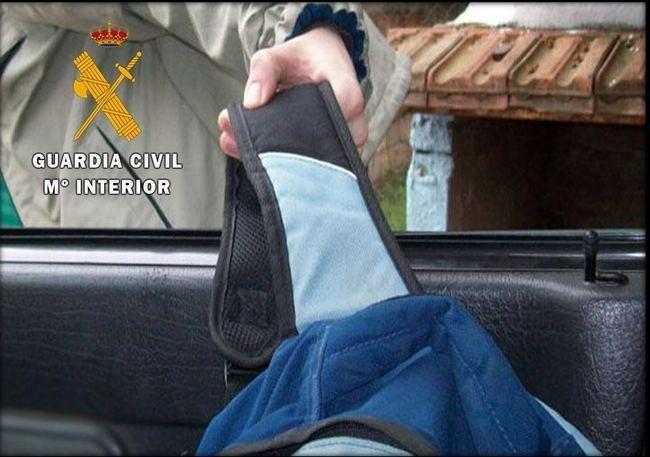 La Guardia Civil investiga a una persona por simular ser víctima de un robo con violencia a punta de pistola