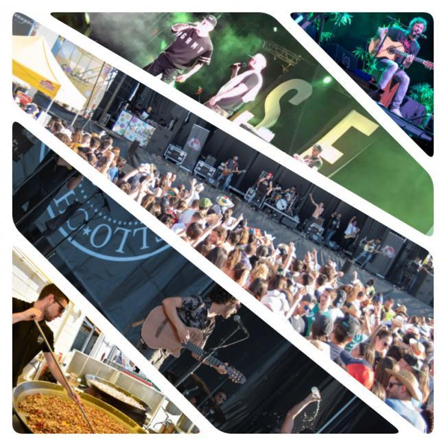 Los almerienses se broncean al ritmo del 'Solazo Fest'
