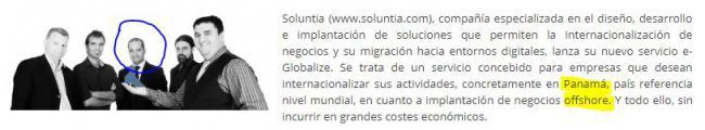 La conexión de Dyntra con los negocios 'off shore' en Panamá