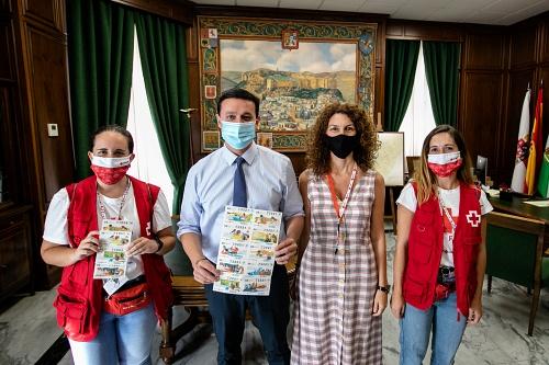 El presidente de Diputación anima a participar en el Sorteo de Cruz Roja