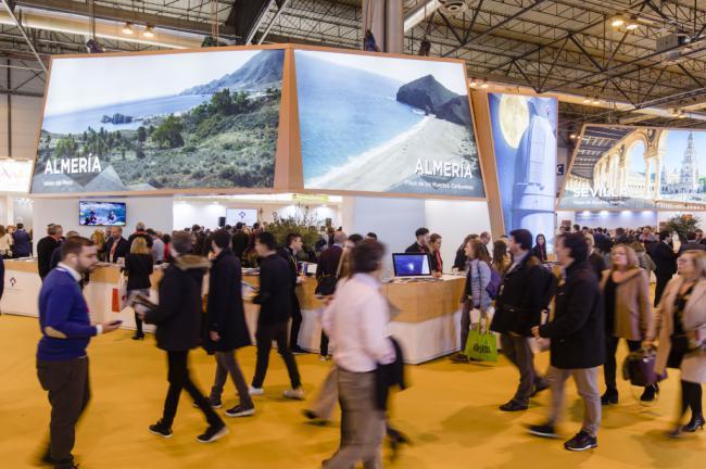 'Costa de Almería' lidera la afluencia de visitantes del pabellón andaluz
