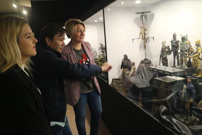El Museo Arqueológico acoge una exposición sobre Star Wars