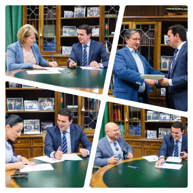 Diputación invierte 155.000 en proyectos deportivos, culturales e infraestructuras de nueve municipios