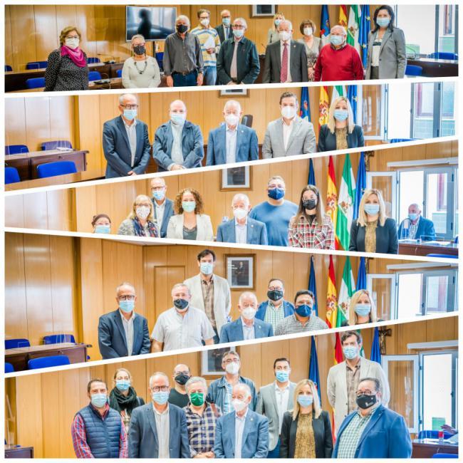Entregadas una veintena de subvenciones a colectivos de Roquetas de Mar