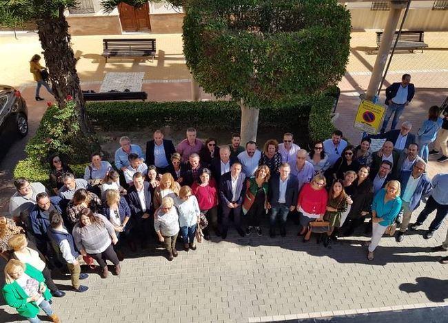 Susana Díaz visita Antas y pide la movilización masiva del voto útil al PSOE