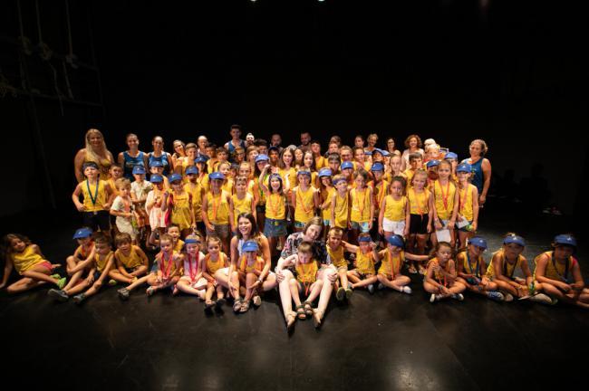 Diputación y Tabernas despiden a los 119 alumnos de la Escuela de Verano y el Taller de Cine 2019