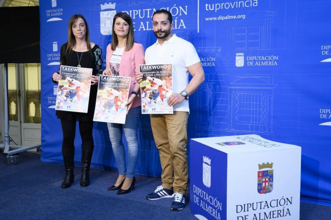 Diputación apoya a los almerienses del Campeonato de Andalucía de Taekwondo