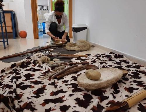 Cultura acerca el Museo de Almería al Colegio Historiador Padre Tapia de Níjar