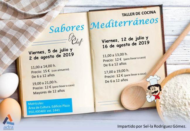 'Sabores Mediterráneos' para que los niños de Adra aprendan a cocinar