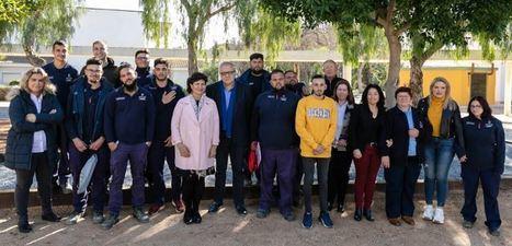 Empleo y Diputación forman a 14 jóvenes en el Taller 'Vivero Provincial'