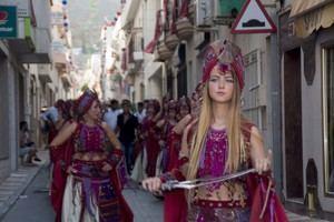 650 personas participarán en el Desfile de Moros y Cristianos de Carboneras