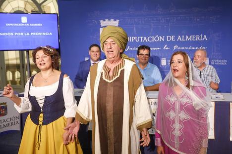 Diputación convierte Canjáyar en un teatro al aire libre con la primera 'Ruta Histórica Teatralizada'