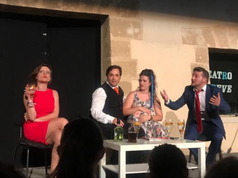 El Castillo de Guardias Viejas se convierte en escenario de Teatro Breve