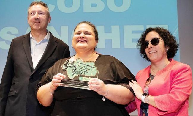 La almeriense Teresa Cobo gana el VII Concurso Musical de la ONCE