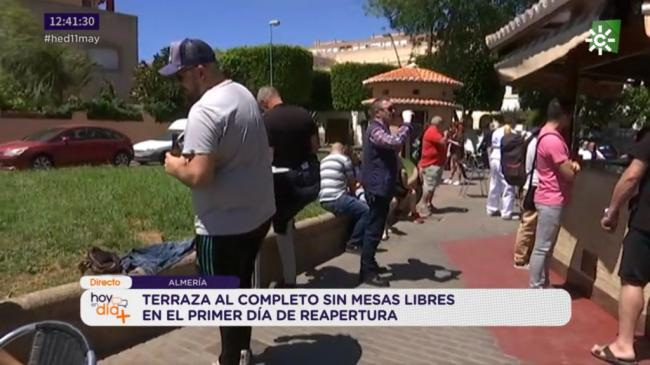 Almería da ejemplo de lo que no hay que hacer en la Fase 1 del #COVID19