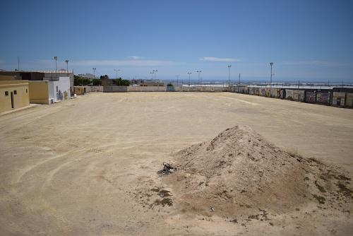 En Vícar se prepara el terreno para el autocine