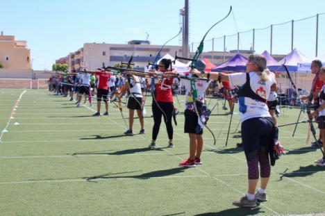 Vícar Consigue Un Oro En El Campeonato De Andalucía De Tiro Con Arco Por Equipos De Clubes