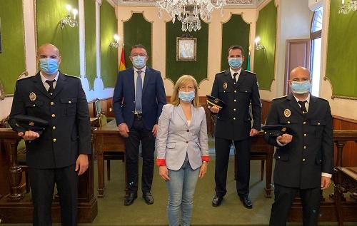 Toman posesión dos oficiales de la Policía Local de Berja