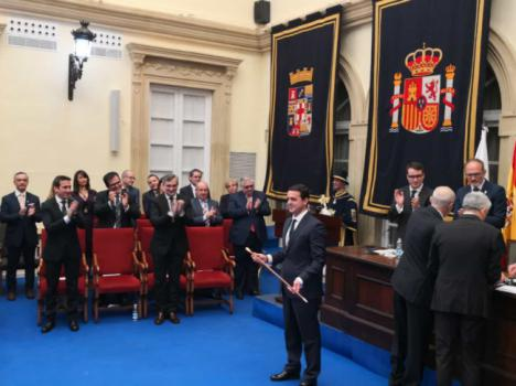 El nuevo presidente de la Diputación tira de orgullo almeriense