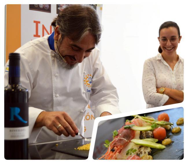 El chef Tony García une el mar y la tierra de Almería en Innova Horeca