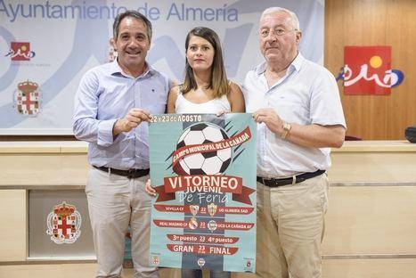 Real Madrid, Sevilla, UDAlmería y La Cañada Atlético, en el VI Torneo de Fútbol Base Juvenil de la Feria
