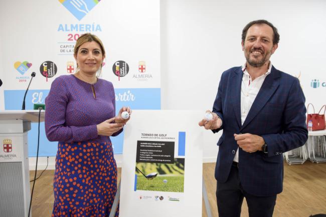 La Capitalidad se promocionará el 6 de abril en el torneo de Golf 'Almería 2019' de El Toyo