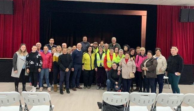 Diputación explica la importancia del PFEA para los municipios en reuniones con trabajadores