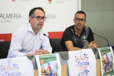 Habrá 300 participantes en el 14º Triatlón Ciudad de Almería