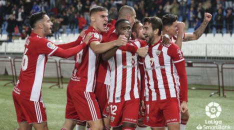 El Almería ya suma 10 jornadas sin perder