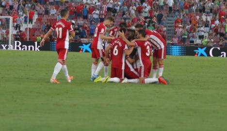 3-2: Espectacular arranque de la nueva UD Almería
