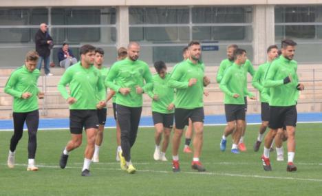 UD Almería este viernes entrena ya en Tarragona