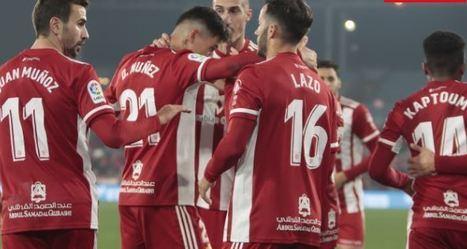 2-0: El Almería se acerca al líder tras imponerse al Oviedo