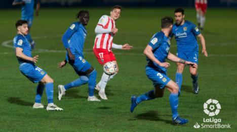 1-1: La expulsión de Sadiq marca el partido ante el Fuenlabrada
