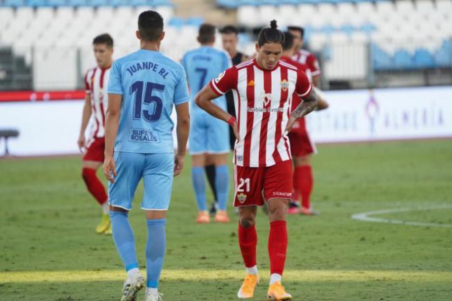 1-2: Almería dice adiós al ascenso