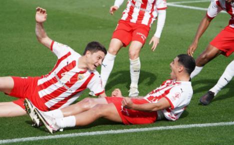 2-2: Al Almería se le escapa la victoria por detalles