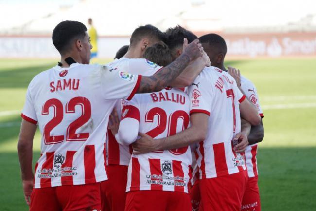 3-1: El Almería supera con claridad al Las Palmas