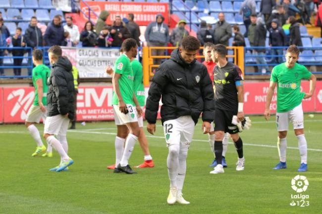 1-0: El Almería se viene de Extremadura de vacío