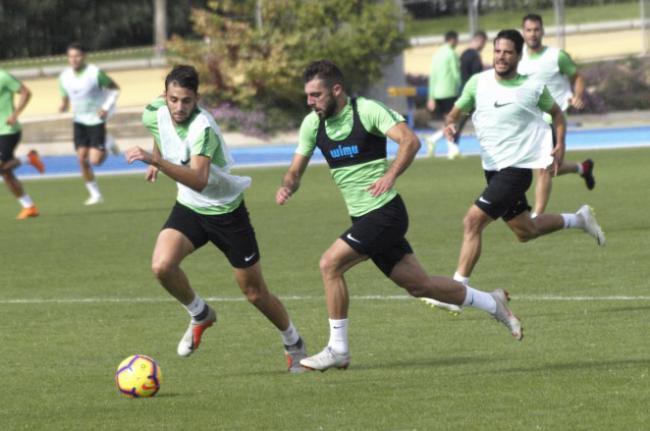 El Almería se prepara para intentar sorprender en el Wanda Metropolitano