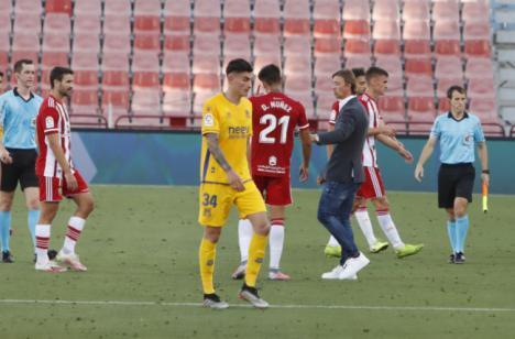 La UD Almería pierde en casa frente al Alcorcón (0-1)