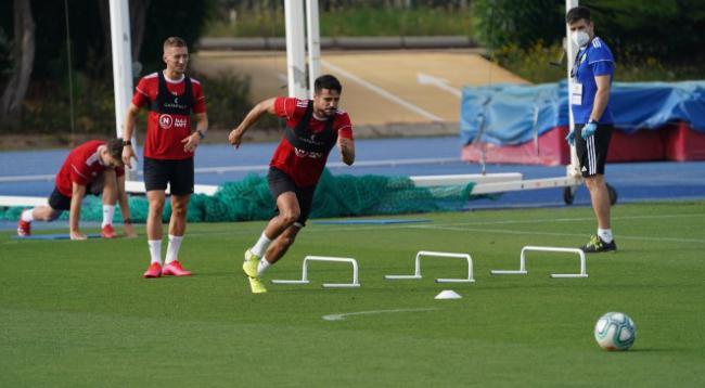 La UD Almería vuelve a los entrenamientos el lunes