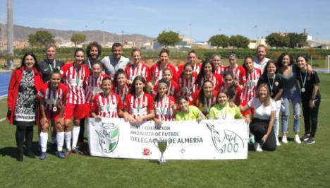 El Almería Femenino actuará por primera vez en el Estadio de los Juegos Mediterráneos